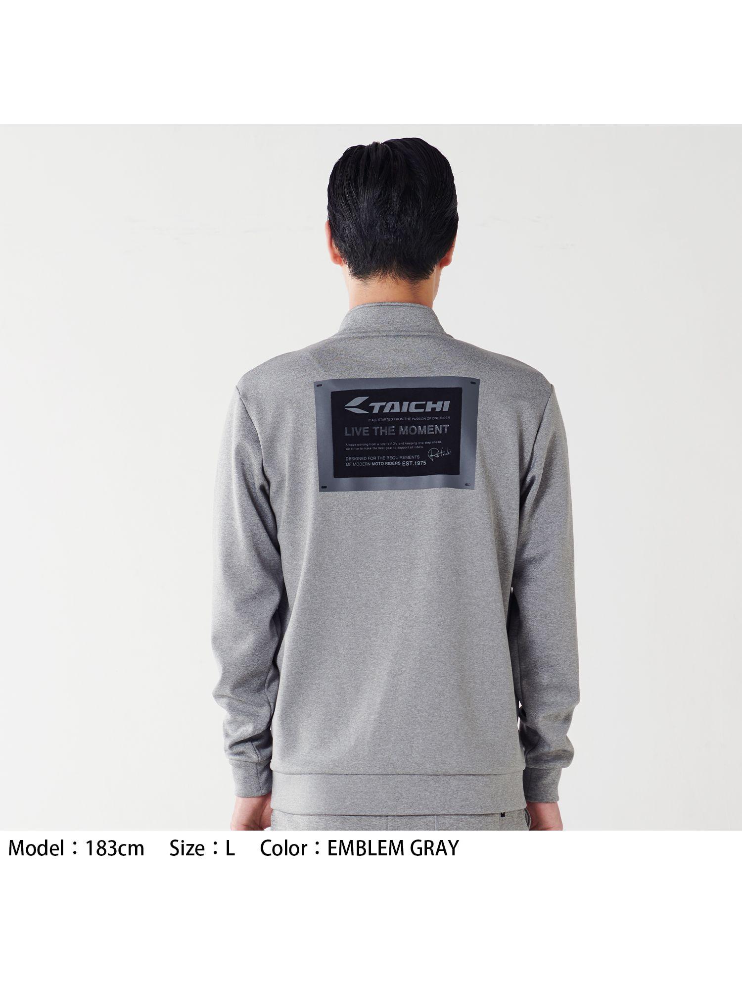 RSU626   ウォームライド ジップシャツ[4colors]