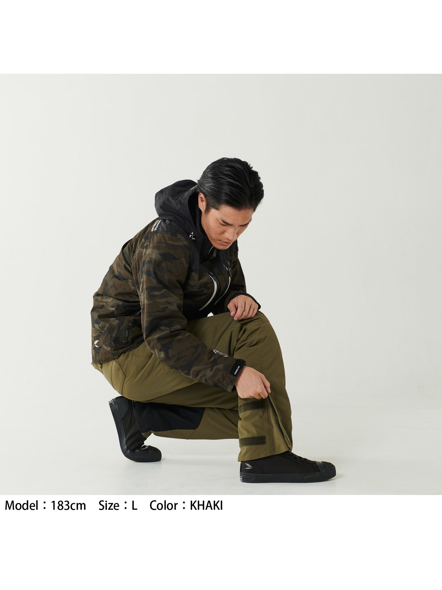 RSY554   WP CARGO OVER PANTS[3colors]