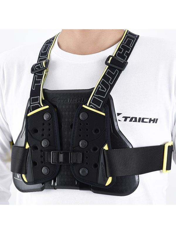 TRV064 | TECCELL CHEST PROTECTOR (WITH BELT)【MEN'S】