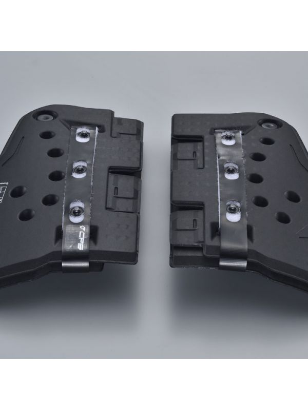 TRV067|TECCELL SEPARATE CHEST PROTECTOR(WITH BUTTON)